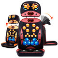 Multifunctional 3D Neck & Back Shiatsu kneading massage vibration massage Cushion Waist whole body Massage 220V
