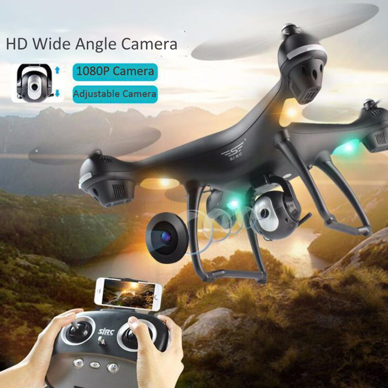S70W GPS FPV RC Drone with 1080P HD Adjustable Wide-Angle Camera WiFi Live Video Follow Me GPS Return Home RC Quadcopter Dron 6