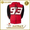 2016 de carreras de f1 moto gp rojo marc marquez 93 hoodie adultos ropa deportiva suéter informal suéter encapuchado