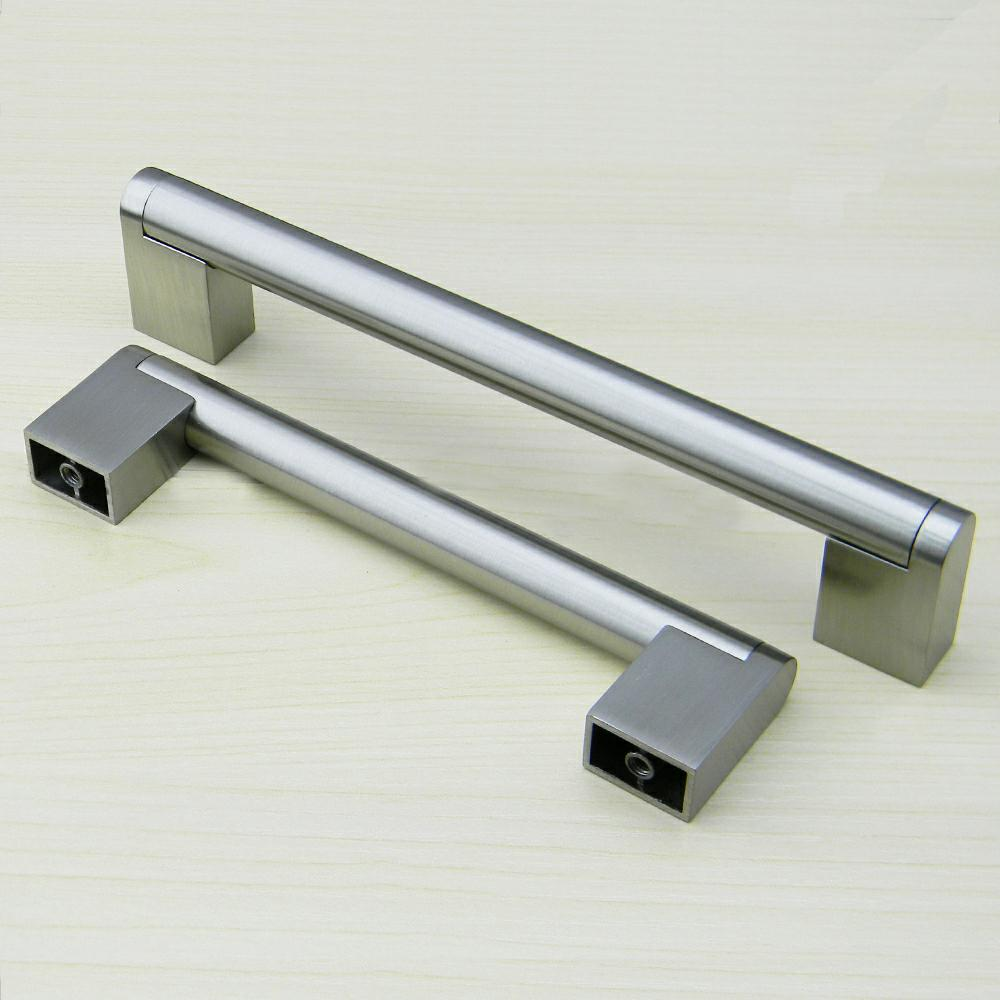 1 Piece Stainless Steel Handle Furniture Drawer Handle and Knob Kitchen Door T-bar Knob Furniture Tool Long Handle and Pull probrico stainless steel white diameter 12mm hole center 50mm 256mm kitchen cabinet t bar door knob furniture drawer handle pull