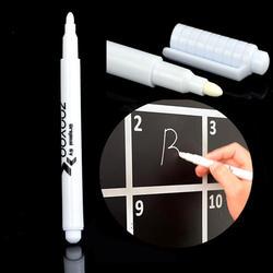 Творческий белый жидкий стираемый мел маркер ручка для стекло оконные рамы доски Маркеры обучение инструменты офисные материал Эсколар