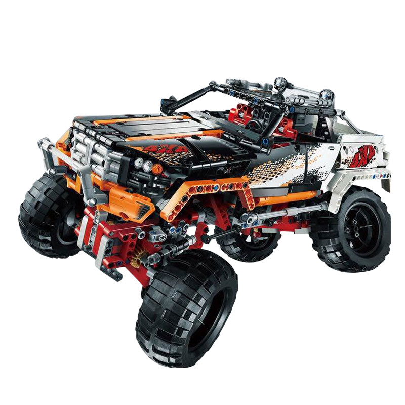 LEPIN 20014 1386Pcs Technic Series Rock Crawler Off-road Vehicles Building Blocks Bricks Children Toys Compatible 9398