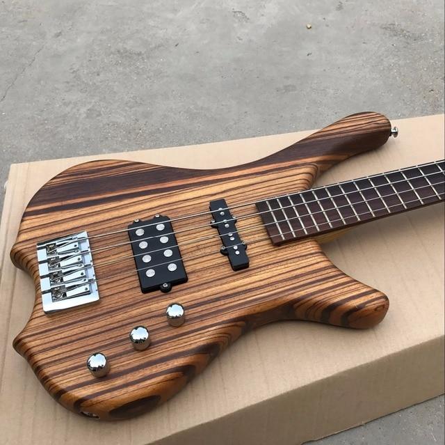 factory custom 4 strings electric bass guitar rosewood fingerboard