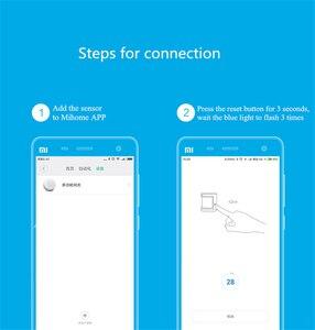 Image 5 - Aqara Sensor de movimiento inteligente ZigBee Gateway para Xiaomi mijia Smart home, Sensor de movimiento corporal inalámbrico con wifi