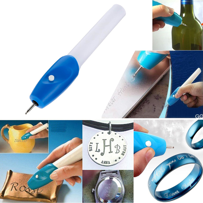 цена на 1pc Mini Engraving Pen Electric Jewellery Glass Wood Engraver Carving Pen Machine Grave Tool