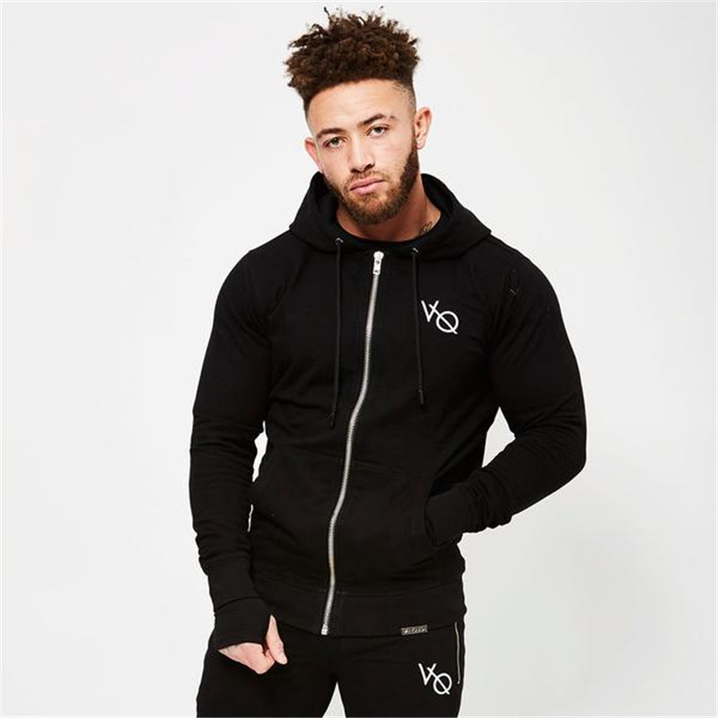 Hoodies Men 2018 Hoody Male Long Sleeve Solid Color Hooded Mens Sweatshirt Mens Hoodie Tracksuit Sweat Coat Casual Sportswear