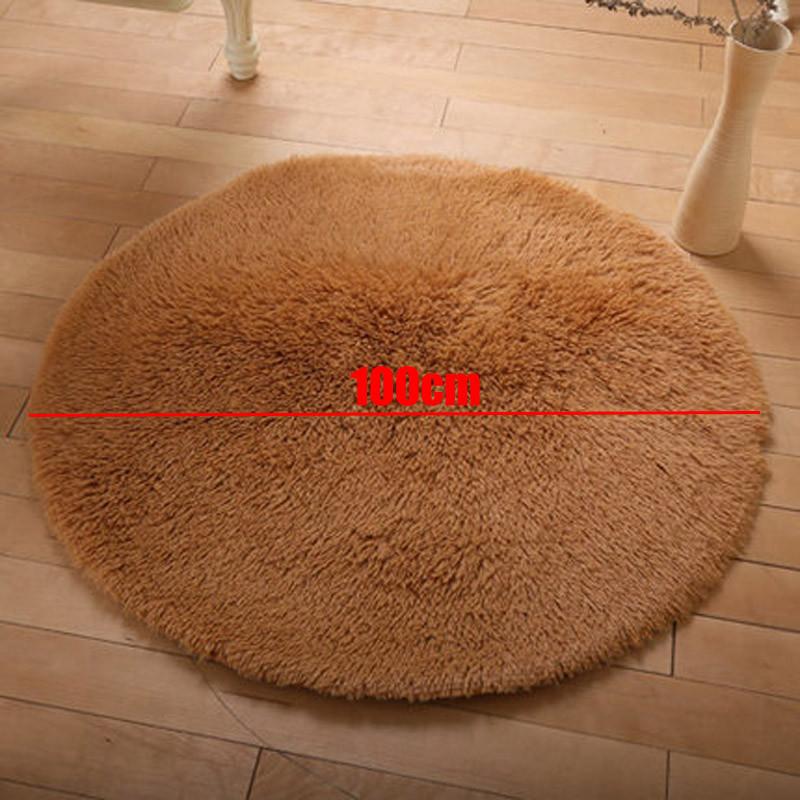 100cm Diameter Round Bathroom Mats