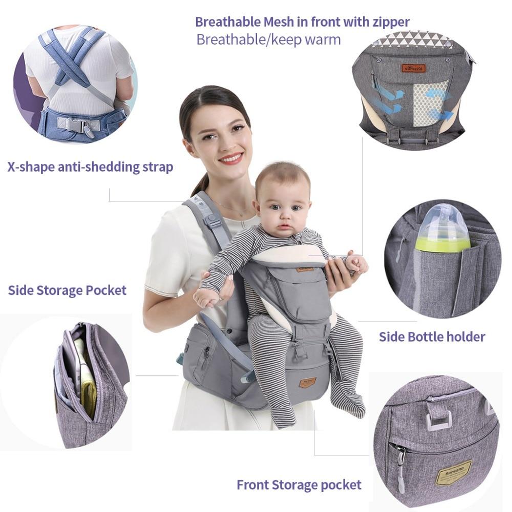Ergonomic Hip Seat Baby Carrier  2