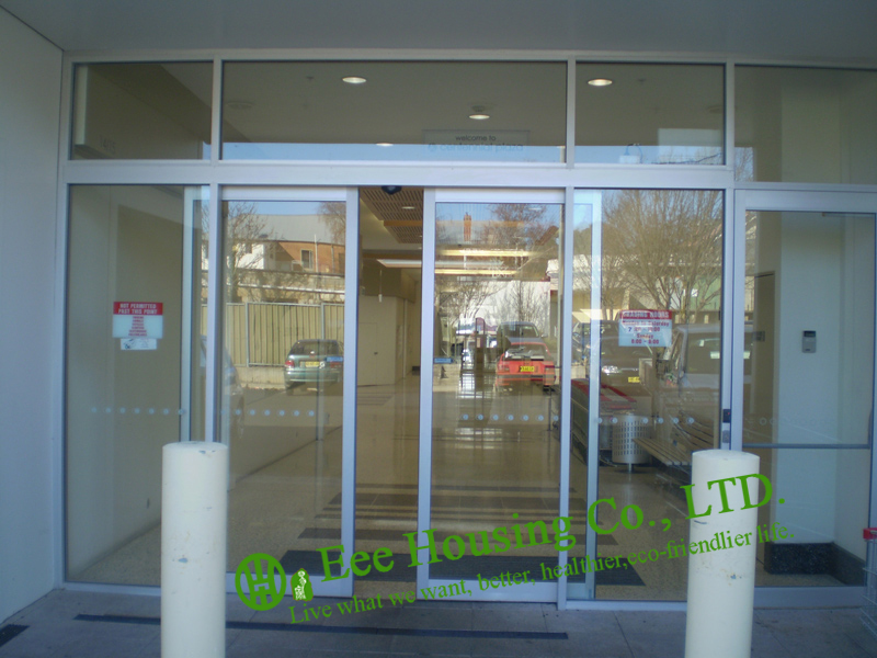 Automatic sliding doors for sale glass