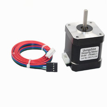 цена на 3D printer two-phase hybrid 42 nema17 nema 17 stepper motor 17hs4401 free shipping