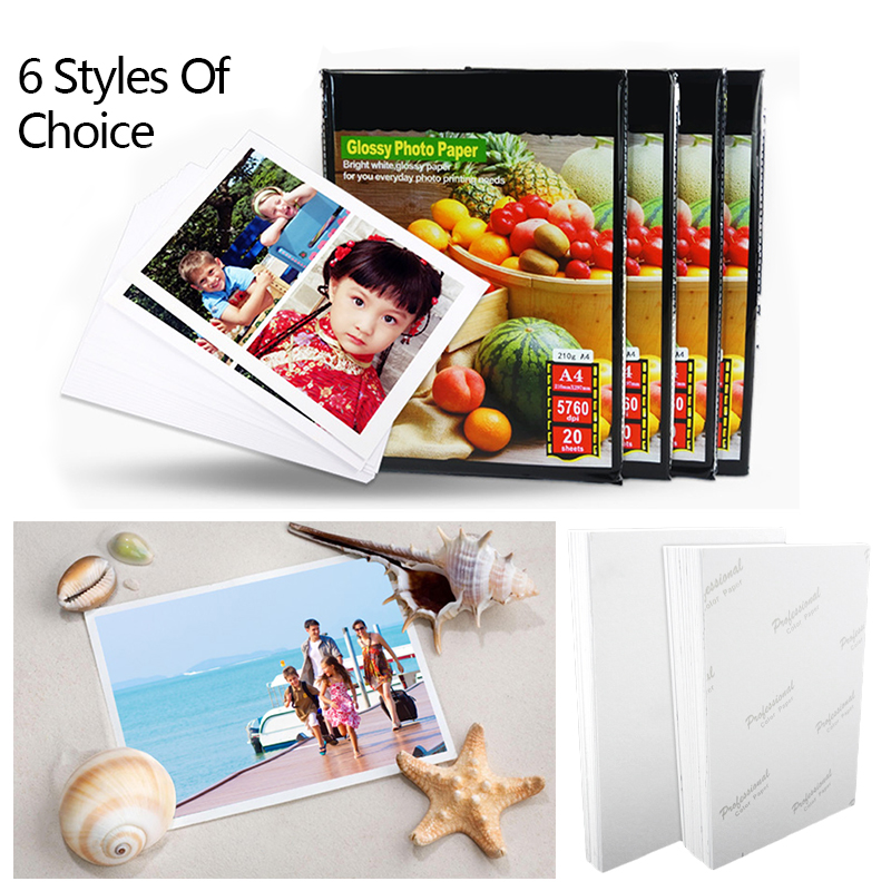 Photo Paper Waterproof Inkjet Printers Albums Quick-Drying Scanner Camera Premium Picture Instant Film Cameras Camcorder