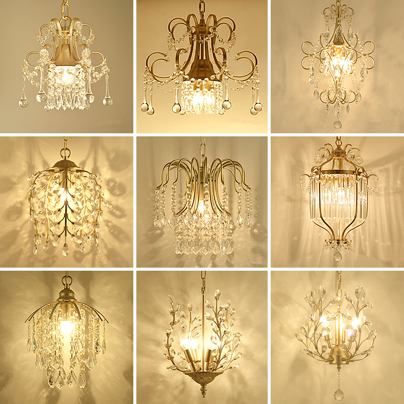 Art Decor Church Chandelier Lighting Large 3-layer Cognac Crystal Lamp 28-35 Pcs Vintage Hanging Lustre Villa Hotel Chandelier Choice Materials Ceiling Lights & Fans