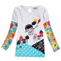 Nova t shirts new designs kids wear children clothes autumn baby clothes girls tees 2016 kids clothing child girls wear tops
