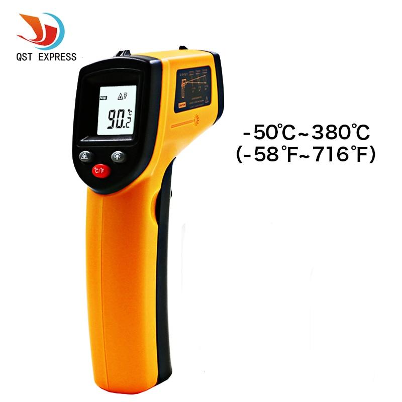 1 Stücke ABS Lcd-digitalanzeige GM320 Infrarot-thermometer Laser Temperatur Tester berührungslose/Handwerkzeuge
