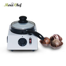 Chocolate Melting Pot Commercial Chocolate Melting Machine Electric Single Heating Pot Party Heating Cheese Machine 110V-240V baking tools chocolate melting furnace diy handmade chocolate mechanical and electrical heating melting pot