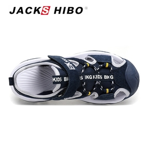 Image 3 - JACKSHIBO Kid Sandals Summer Cut outs Sandals Beach Close Toe Sandals for Child Water Shoes Anti skid New Design for Children