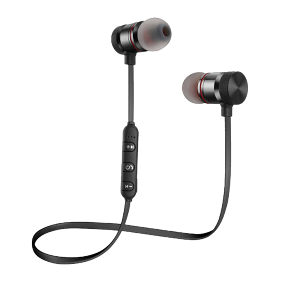 ES02 Bass Bluetooth Wireless Earphones With Mic headphone bluetooh Headset super bass earbuds bluetooth kulakl k for iphone