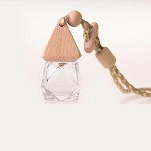 6ml Diamond Perfume Bottle Pyramid Cover To Improve The Air Inside The Car Fine Workmanship Car Decorative Ornament