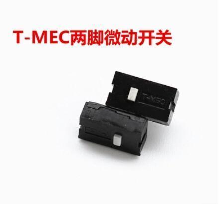 2pcs/set Original T-MEC Mouse Micro Switch Two Feet Micro Button Side Key For Razer Imperator
