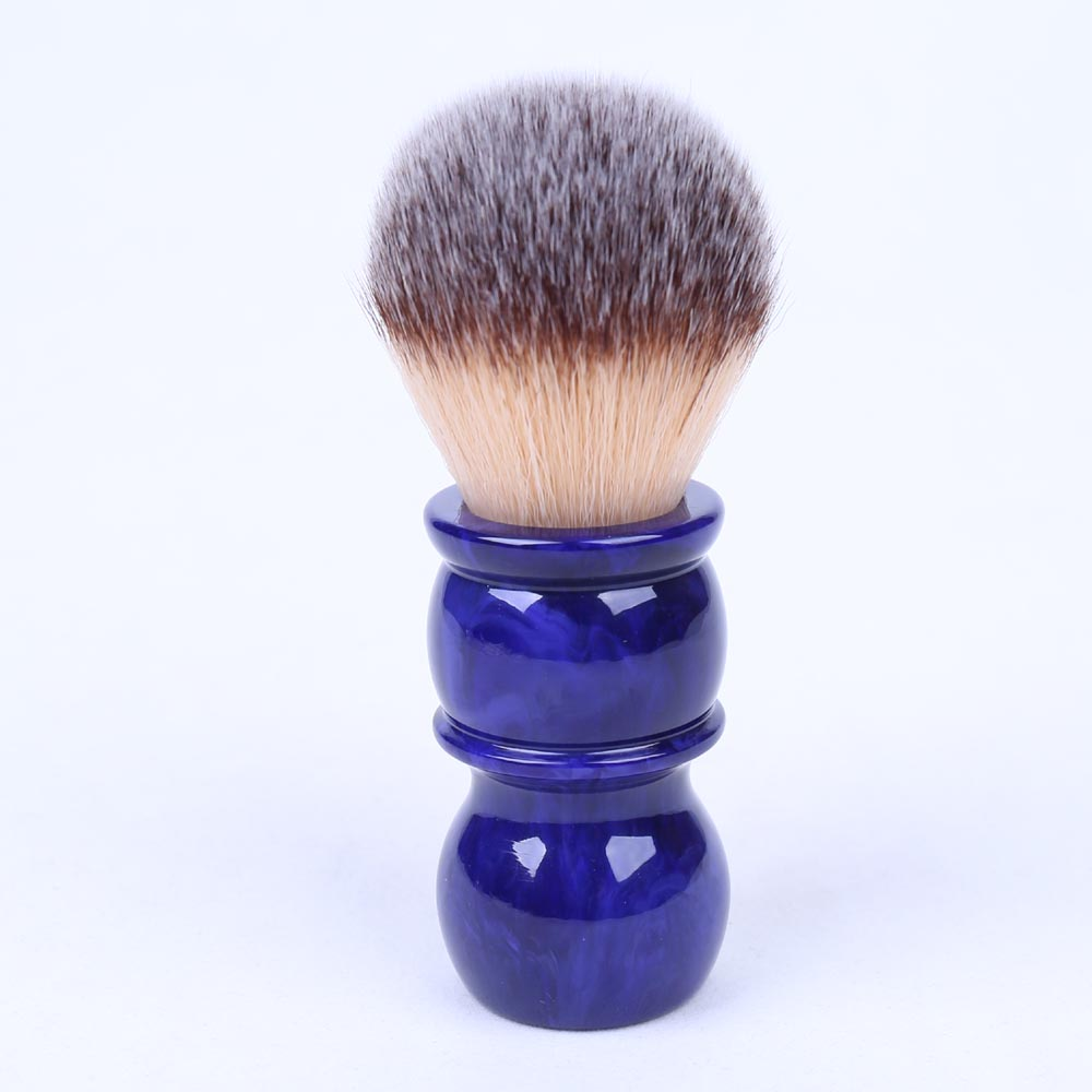 24MM Yaqi Bluish Violet Synthetic Hair Shaving Brushes