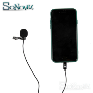 Image 4 - YC LM10 Phone Audio Video Recording Lavalier Condenser Microphone for iPhone 8 7 6 5 4S 4 ipad Huawei Sumsang Xiaomi Type C
