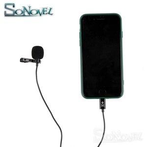 Image 4 - YC LM10 電話オーディオビデオ録画ラベリア用 iPhone 8 7 6 5 4 4S 4 ipad Huawei 社 Sumsang xiaomi タイプ C