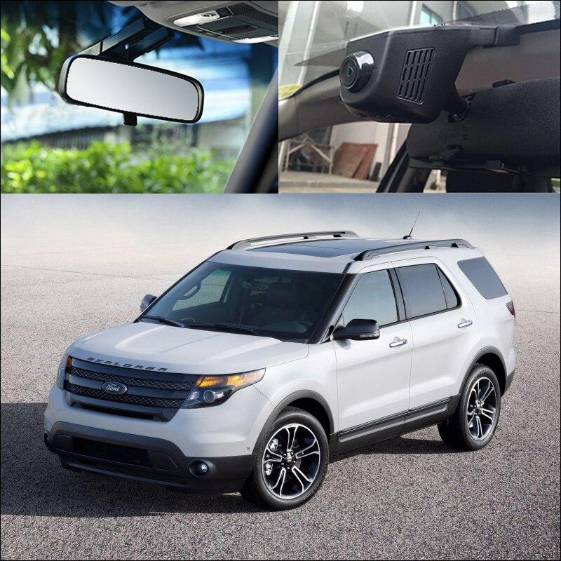 BigBigRoad Pour Ford explorer Mustang GT Ecosport Maverick Mondeo Point 2 Voiture Wifi DVR Enregistreur Vidéo Dash Cam