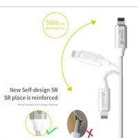 WSKEN Lite2 Магнитный кабель штекер Быстрая зарядка Micro USB-кабель типа C Магнитный зарядный кабель для iPhone кабель type USB-C