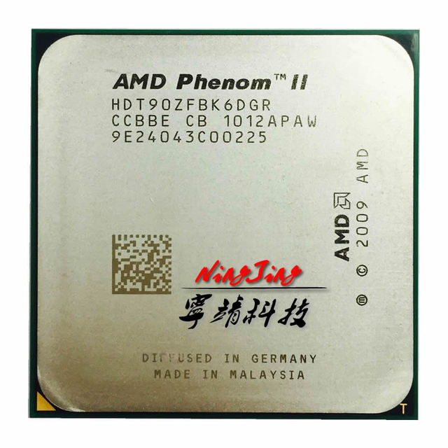 AMD Phenom II X6 1090T 1090 3.2 GHz Six Core CPU Processor HDT90ZFBK6DGR Socket AM3