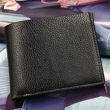 hot deal buy mens fashion leather wallets premium bifold wallets for man short walet portefeuille homme coin pocket purses male wallets
