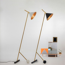 Standing Lamp Modern Deco Salon Floor Lamps for Living Room Industrial Bar Creative Studio Retro Tripod Black Metal Reading Art