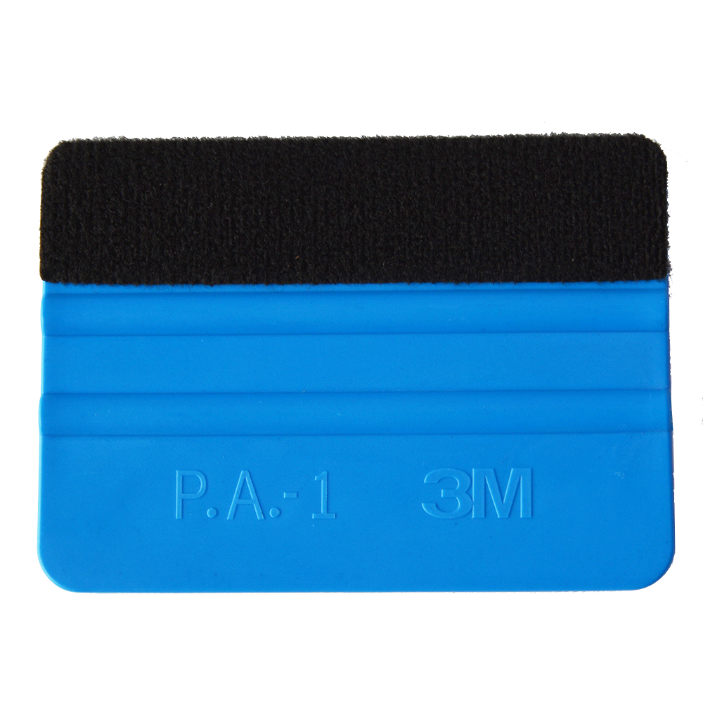 EHDIS 3M Blue Felt Squeegee Vinyl Film Wrap Tool Fabric Scraper Tinting Tools Window Glass Wash Tools Auto Car Cleaning Tools