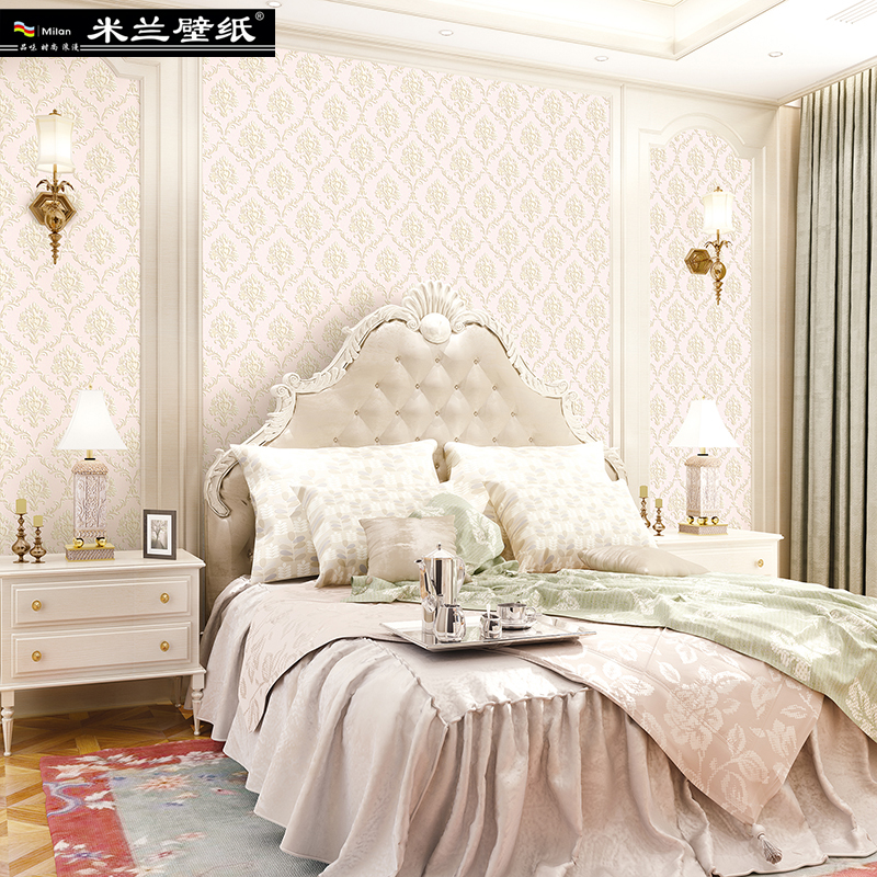 MILAN European Style Home Decor 3d Wallpaper Roll for Living Room and Bedroom Stereoscopic Fine Embossing 3d Wall Paper Roll 3d european style home decor wall sticker