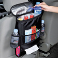 Car Seat Back Organizer Multi Pocket Travel Storage Coolr Bag Drinks Holder
