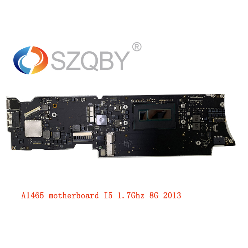 Laptop <font><b>Motherboard</b></font> for Macbook Air <font><b>A1465</b></font> Logic Board 11'' I5 8G 1.7Ghz 820-3435-B 2013 Year image