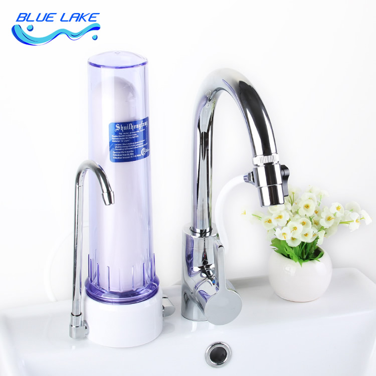 Transparent desktop straight drink water purifier,easy to install,Safe drinking water,Reusable Filter,Ceramic composite filter 2016 osmosis portable ceramic filter faucet water purifier adapted to the standard easy installation removes 99% contaminants