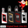 100% Original 220W smok Alien Kit with Smok TFV8 Baby Tank Atomizer  SMOK Alien Box Mod V8 Baby Coil No 18650 Battery Box Mod