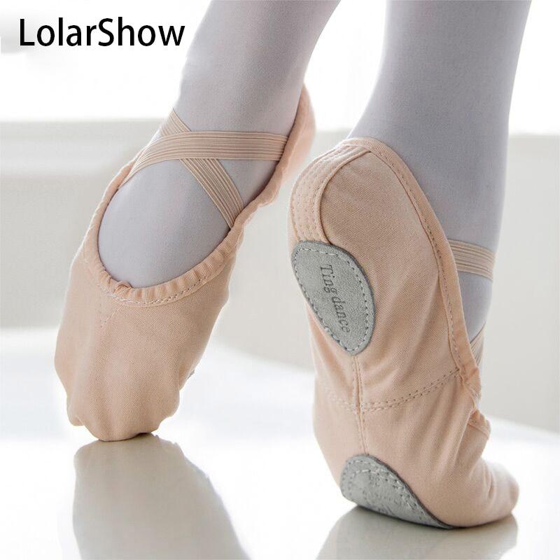DANSI All Levels Advanced Ballet Shoes for Ladies Black ... |Practice Ballet Shoes