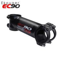 EC90 алюминий+ углеродного волокна стояк штанга стержня углеродного волокна велосипед ультра-легкий стволовых ручка из карбона 28,6-31,8 мм 6 градусов 17 градусов