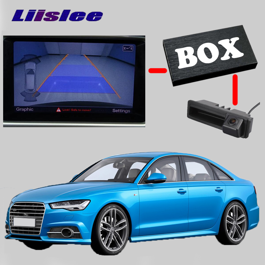 LiisLee View Rear Backup Camera Interface Kit For Audi A6 C4 4A C5 4B C6 4F C7 4G C8 A7 4G8 4G9 RMC NavPlus MMI system
