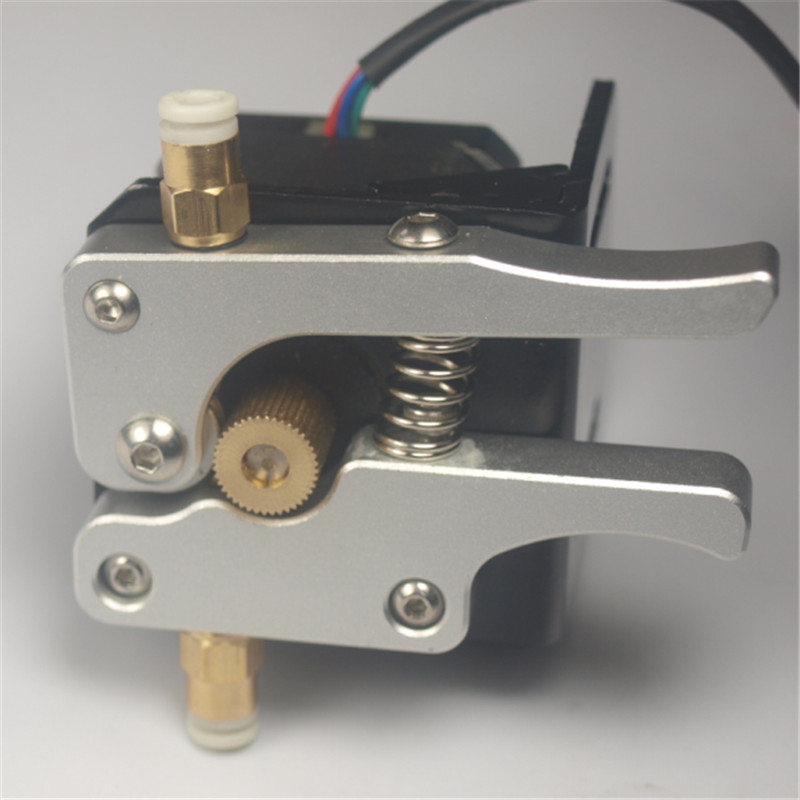 3D printer parts 1.75mm Reprap 17 nema motor metal bowden extruder kit for 1.75 mm filament(NO stepper motor )