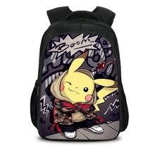 Anime Pokemon Backpack Boys Girls School Bags Children Pikachu Backpack for Teenagers Kids Gift Backpacks Schoolbags Mochila 19