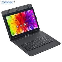 10,1 дюймовый планшетный ПК Android 8,0 3g телефонный звонок Восьмиядерный 4 Гб ПЗУ 32 Гб Две sim-карты Bluetooth Wi-Fi gps ips планшеты ПК 10 10,9