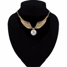Alloy Feather Wings Necklace Wholesale Got Selling The Movie The Deathly Hallows Feather Necklace