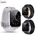 Bluetooth-смарт часы пульсометр наручные Smartwatch телефон помощник наручные часы для IOS Samsung android-смартфоны