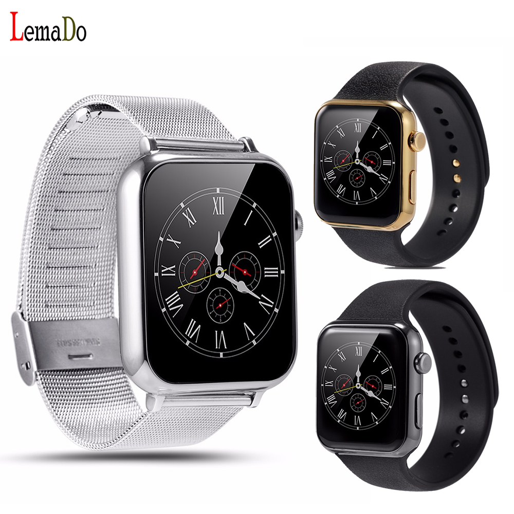 Lemfo A9 Bluetooth Smart watch smartwatch for Apple iPhone Android Phone intelligent fashion smartphone watch Heart rate monitor