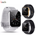 Lemado a9 bluetooth smart watch smartphone para iphone ios samsung android telefone do relógio inteligente