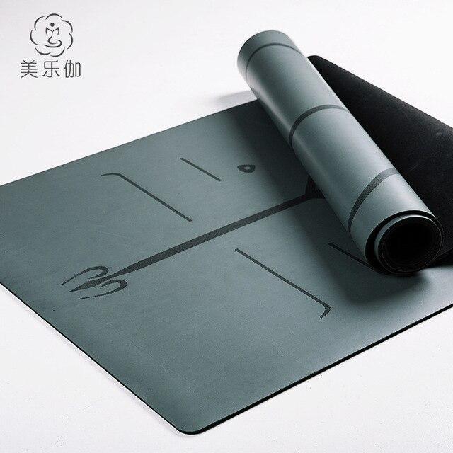 friendly pu mahalo mats rubber yoga natural mat life eco