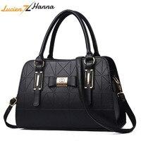 Лидер продаж модные женские туфли кожаная сумка склонны женский бант сумки на плечо Сумки Леди Торгового мягкая сумка Sac