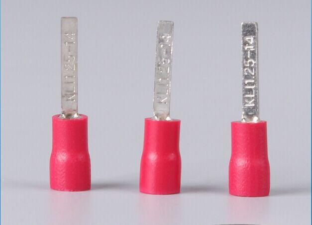 Стандартные предварительно изолирующие клеммы для проводов в форме микросхемы, холоднопрессованные клеммы 500 стандарта